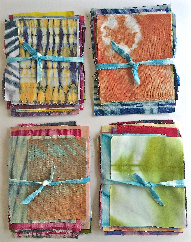 colorful shibori