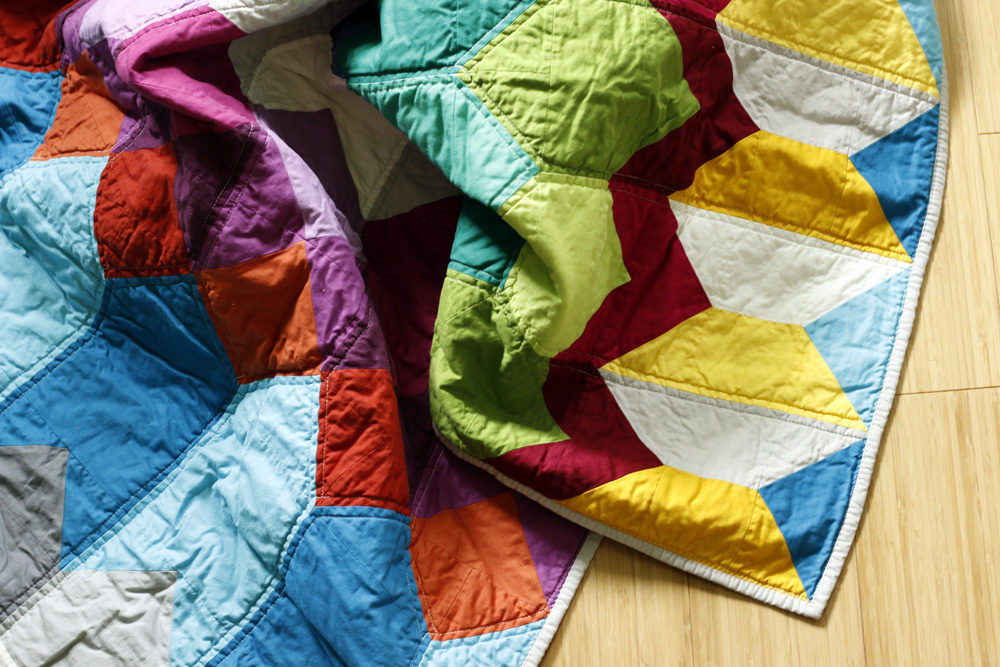 all solids quilt