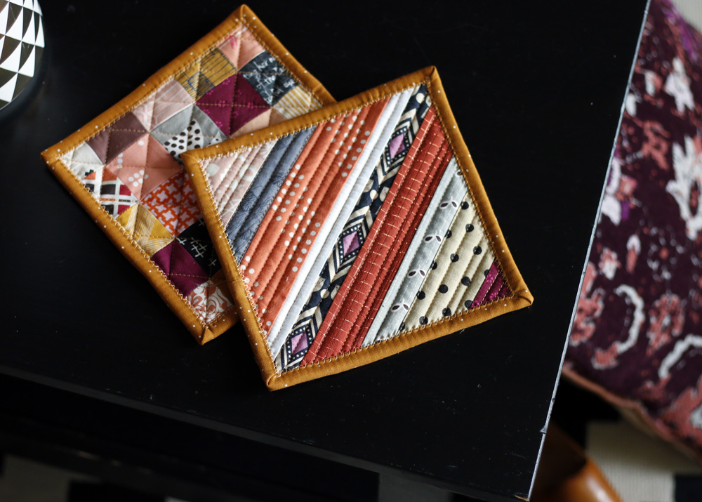 Fall Quilted Potholders. Stitched in Color.jpg