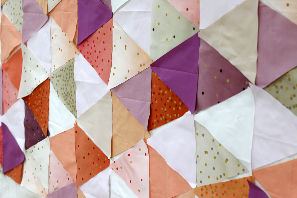 Triangle quilt with Ombre Confetti.jpg