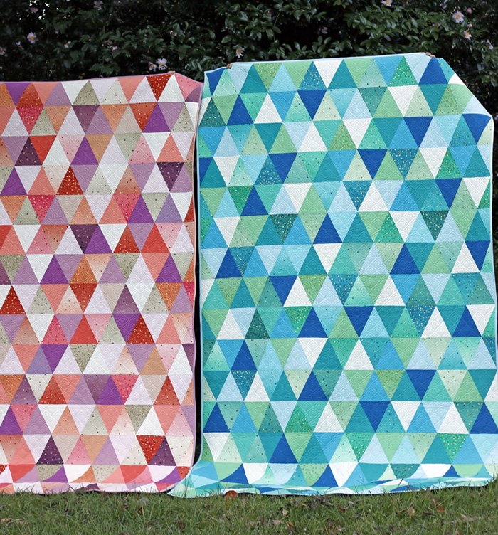 Twin triangle quilts. Stitched in Color.jpg