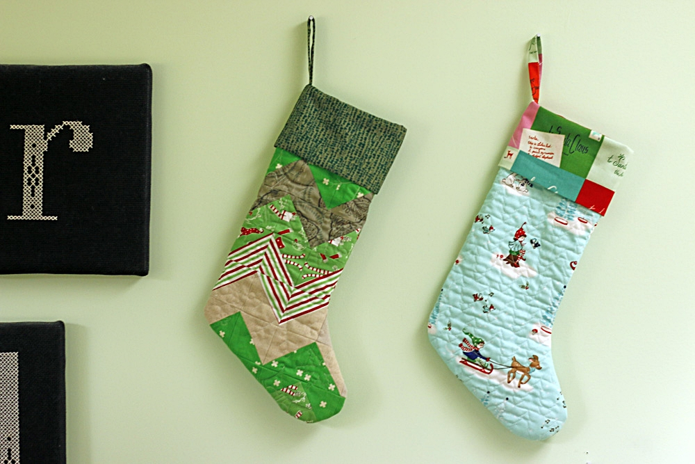 Handmade Christmas Stockings. Stitched in Color.jpg