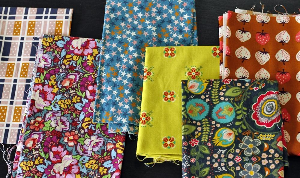 Bright, fun fabrics. Stitched in Color.jpg
