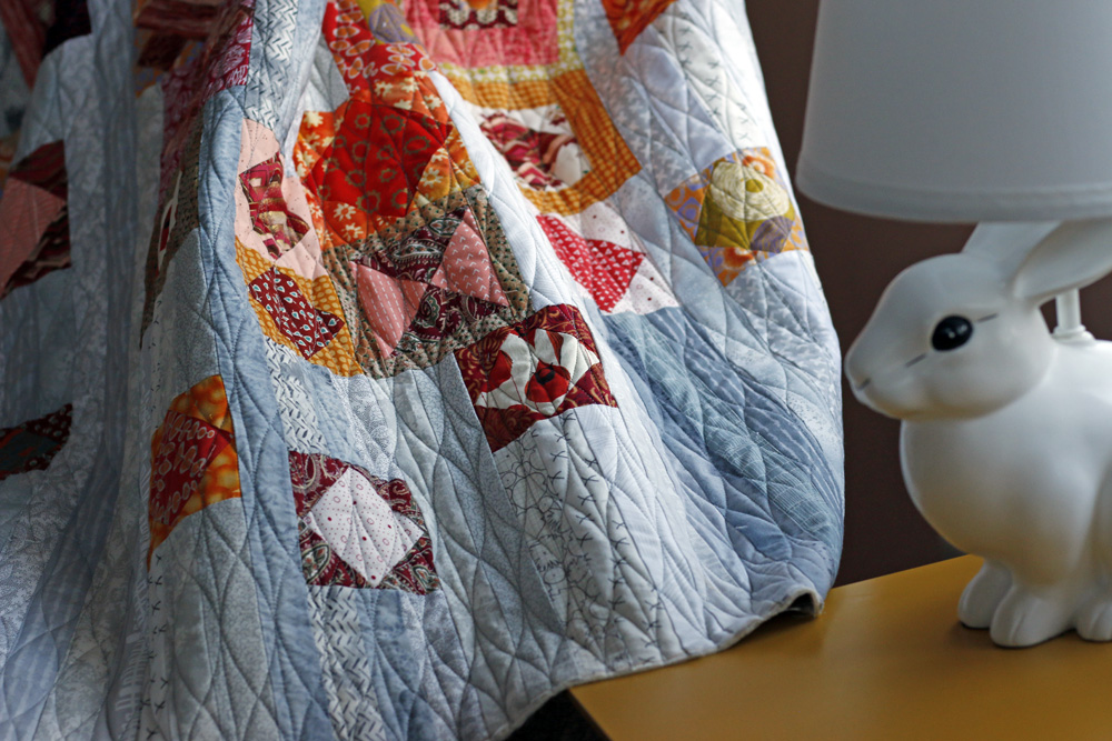 Gypsy Wife diamond wave quilting. Stitched in Color.jpg