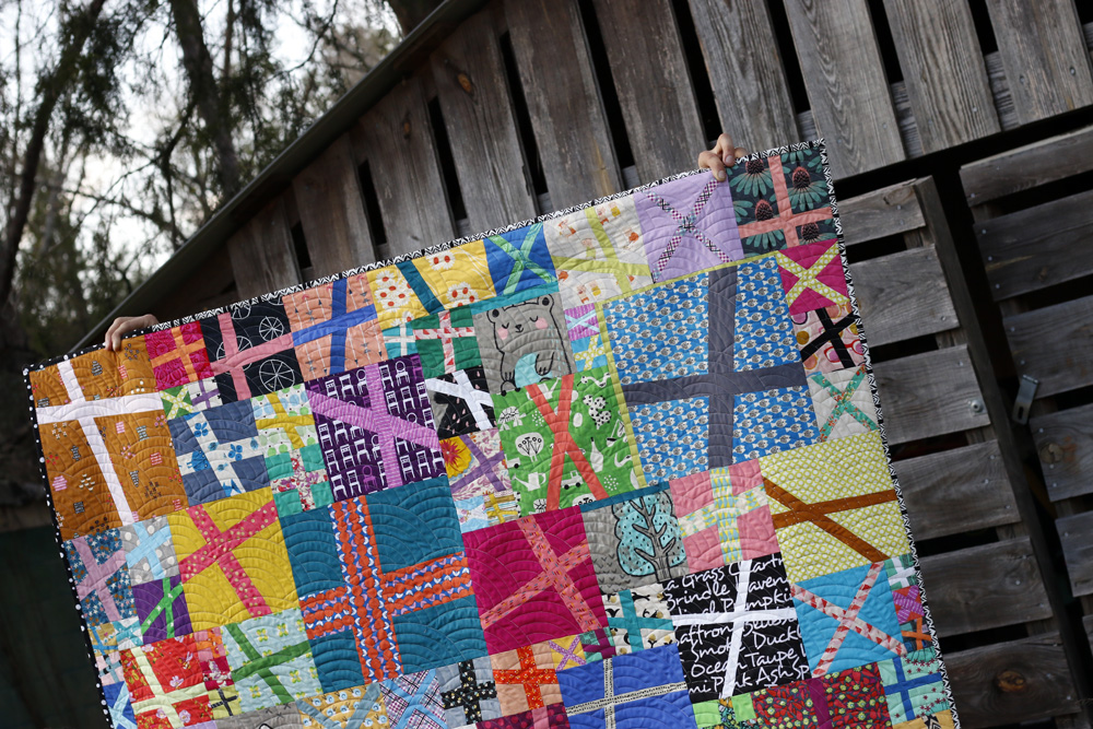 Bright + Shady improv quilt. Stitched in Color.jpg