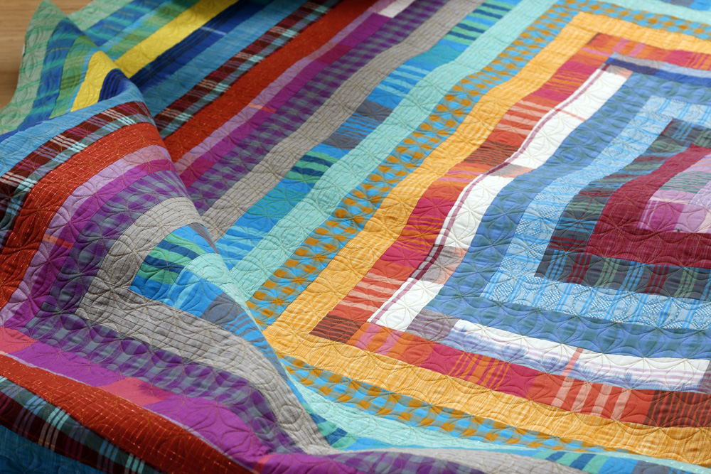 a recent quilting finish for Mary R.