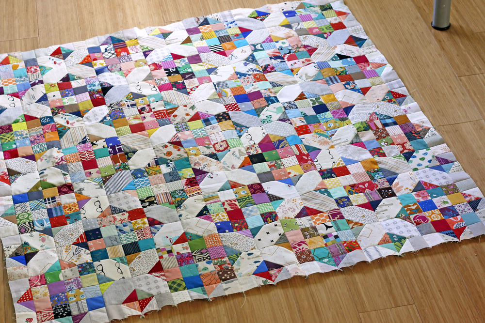 a little quilt top. Stitched in Color.jpg