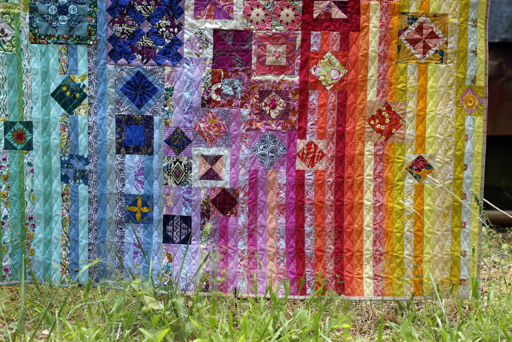 Quilted Gypsy Wife quilt. Stitched in Color.jpg