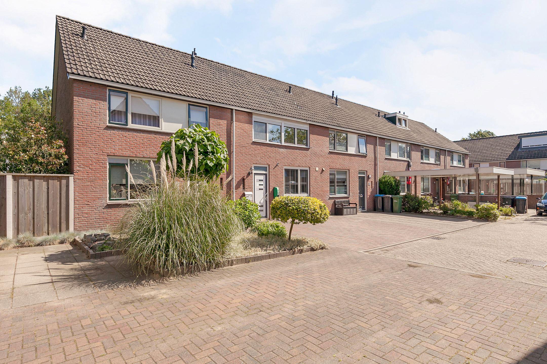 a Dutch row house
