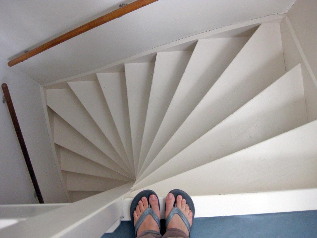 Dutch stairs via Flickr