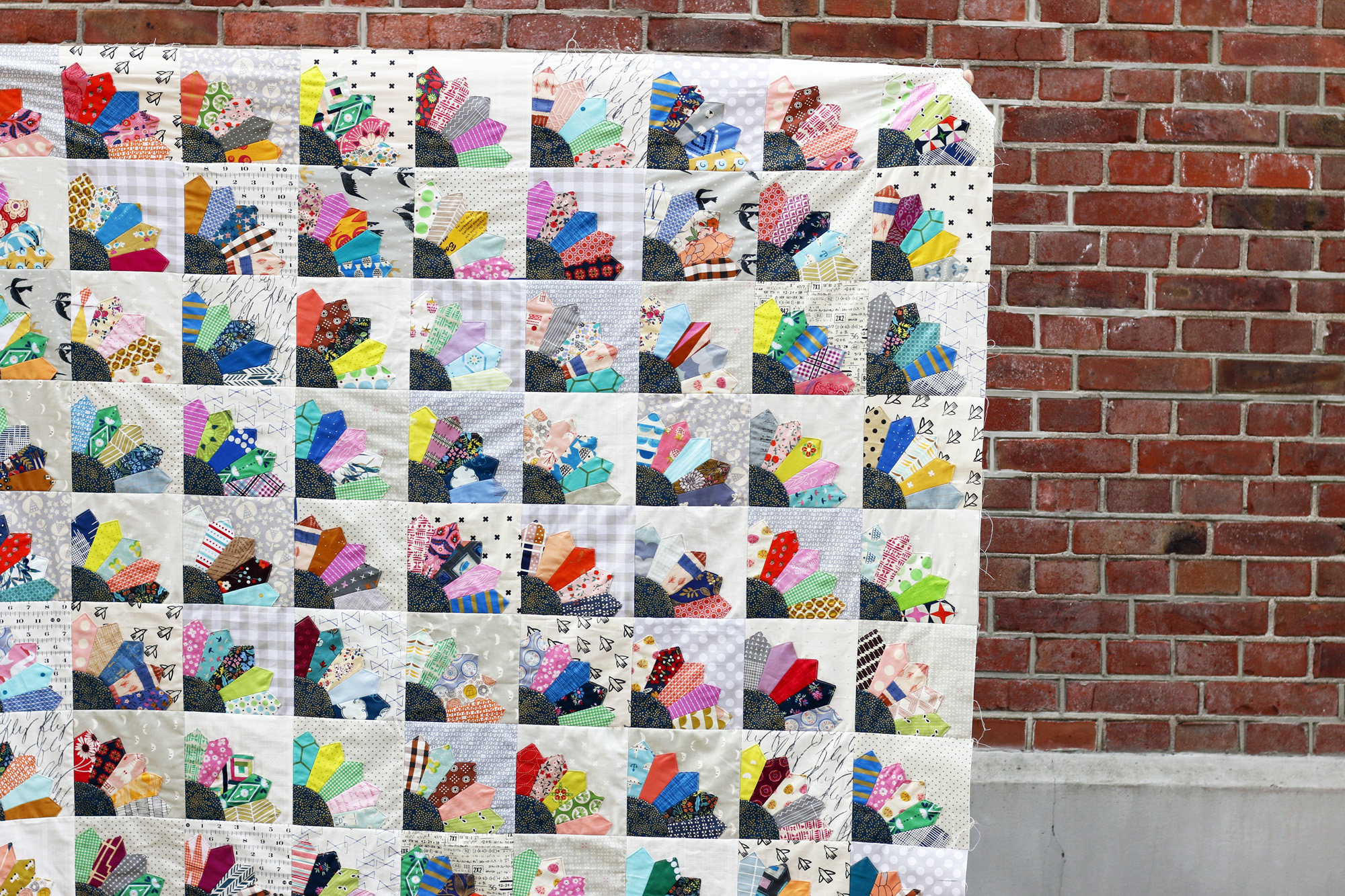 Dresden quilt top. Stitched in Color.jpg
