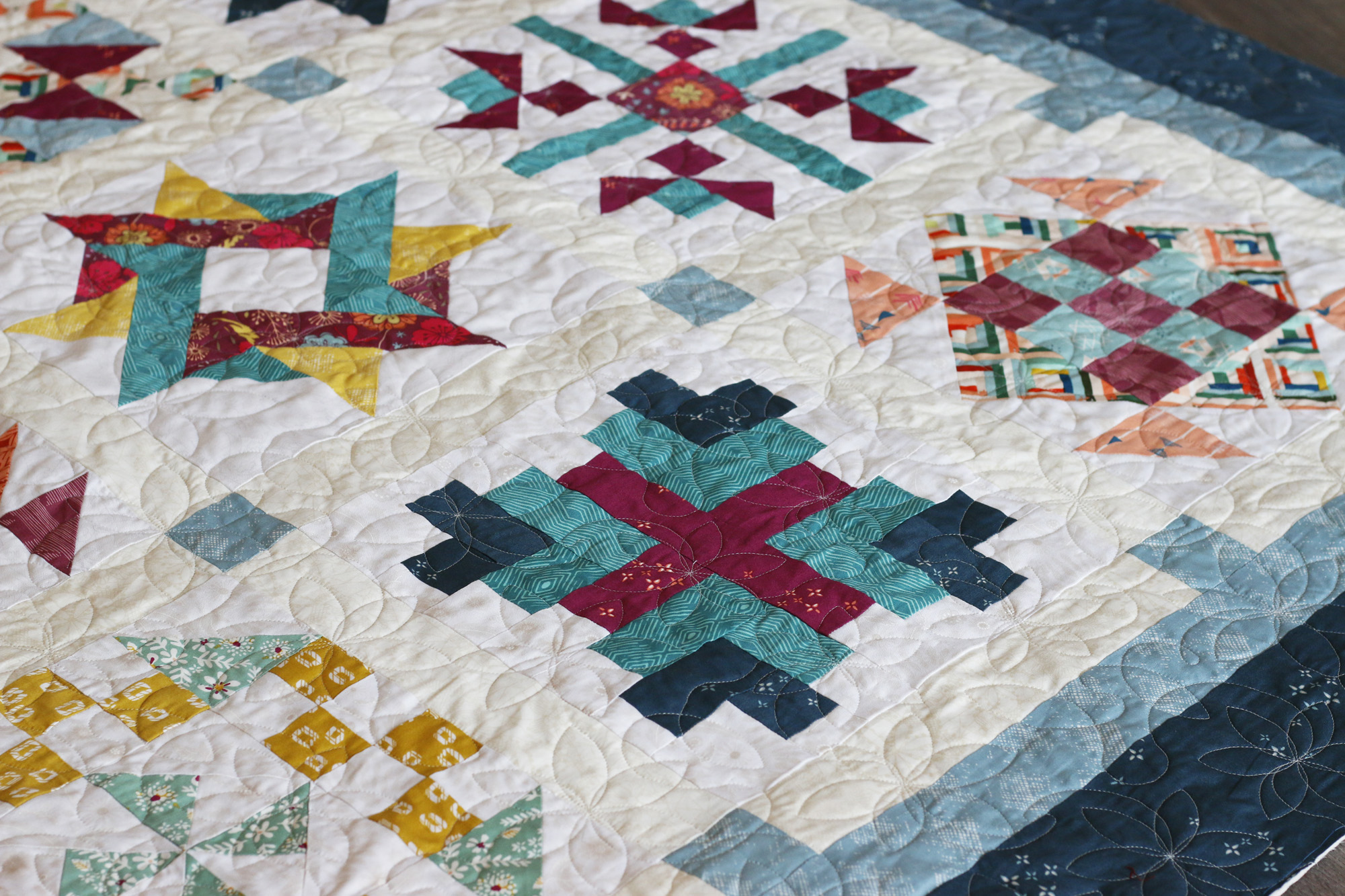 Karin's Lily quilting. Stitched in Color.jpg