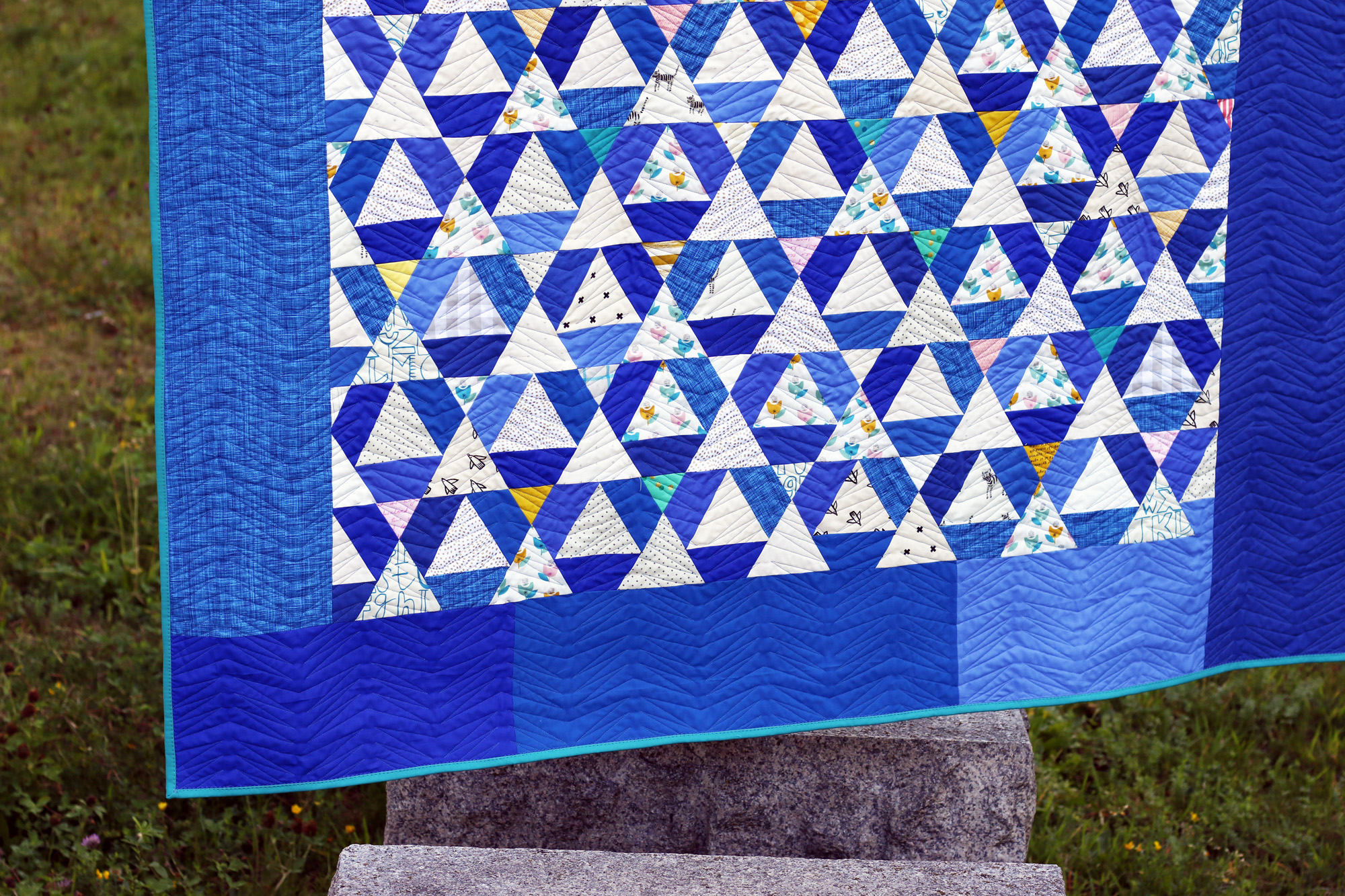 Lavender Blue triangles. Stitched in Color.jpg