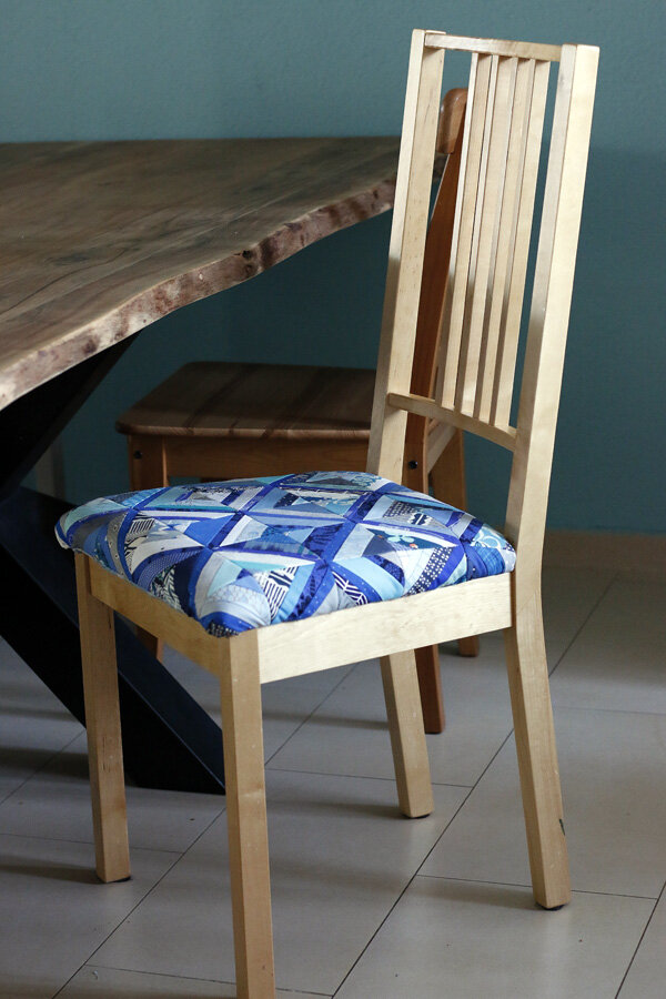 Patchwork dining chair. Stitched in Color.jpg