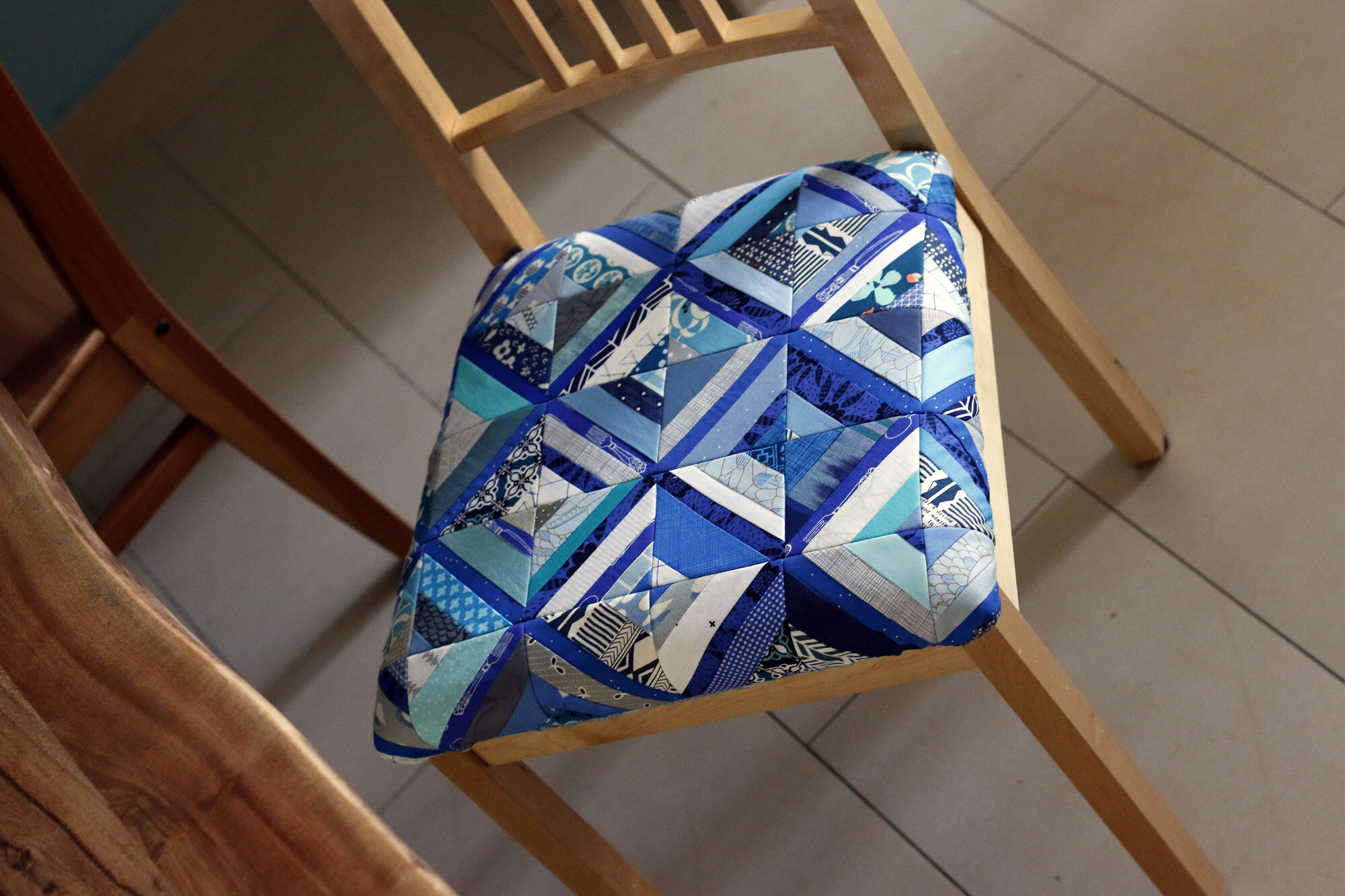 Blue Patchwork chair. Stitched in Color.jpg