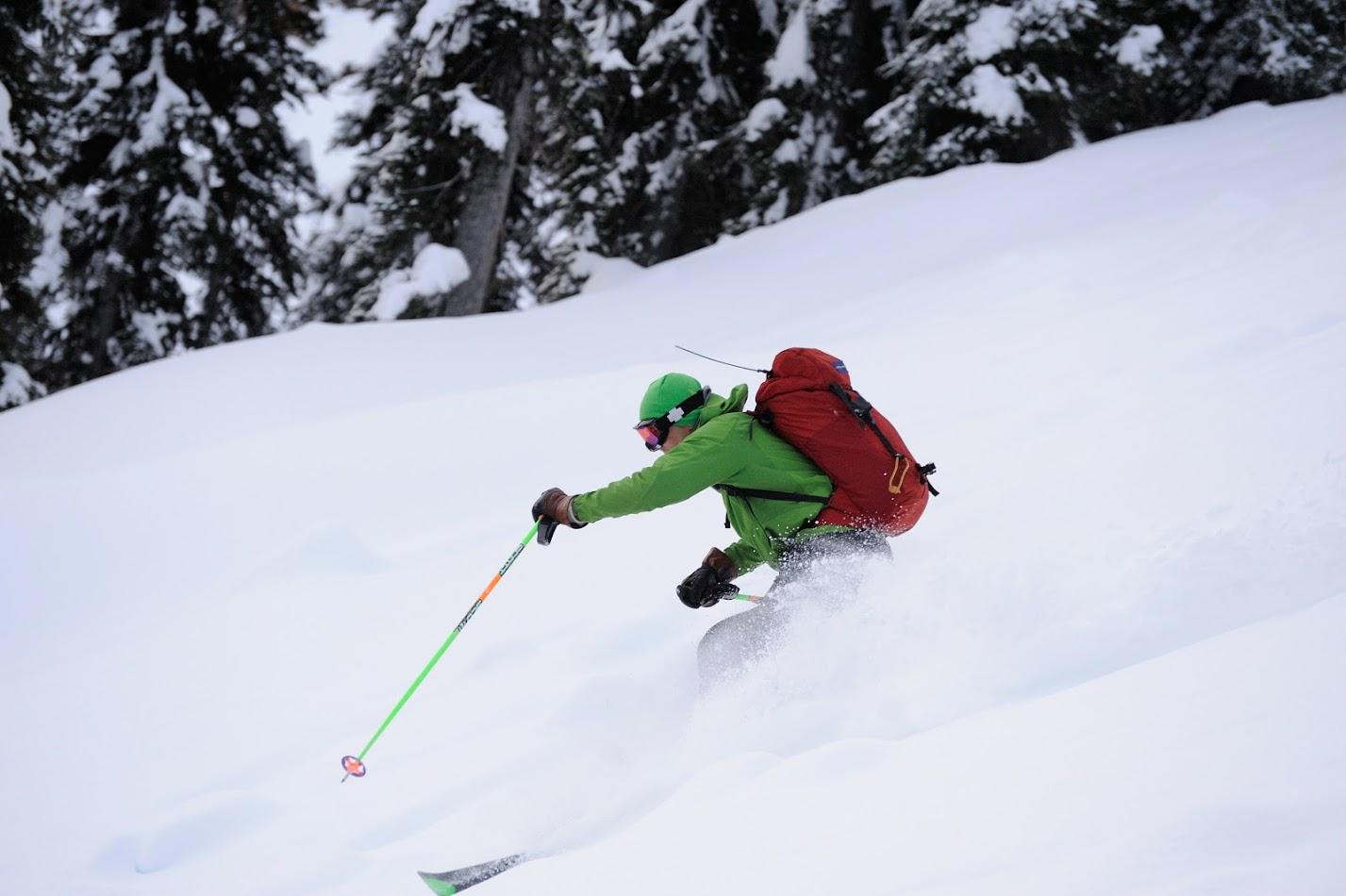 More enjoyable post-storm skiing
