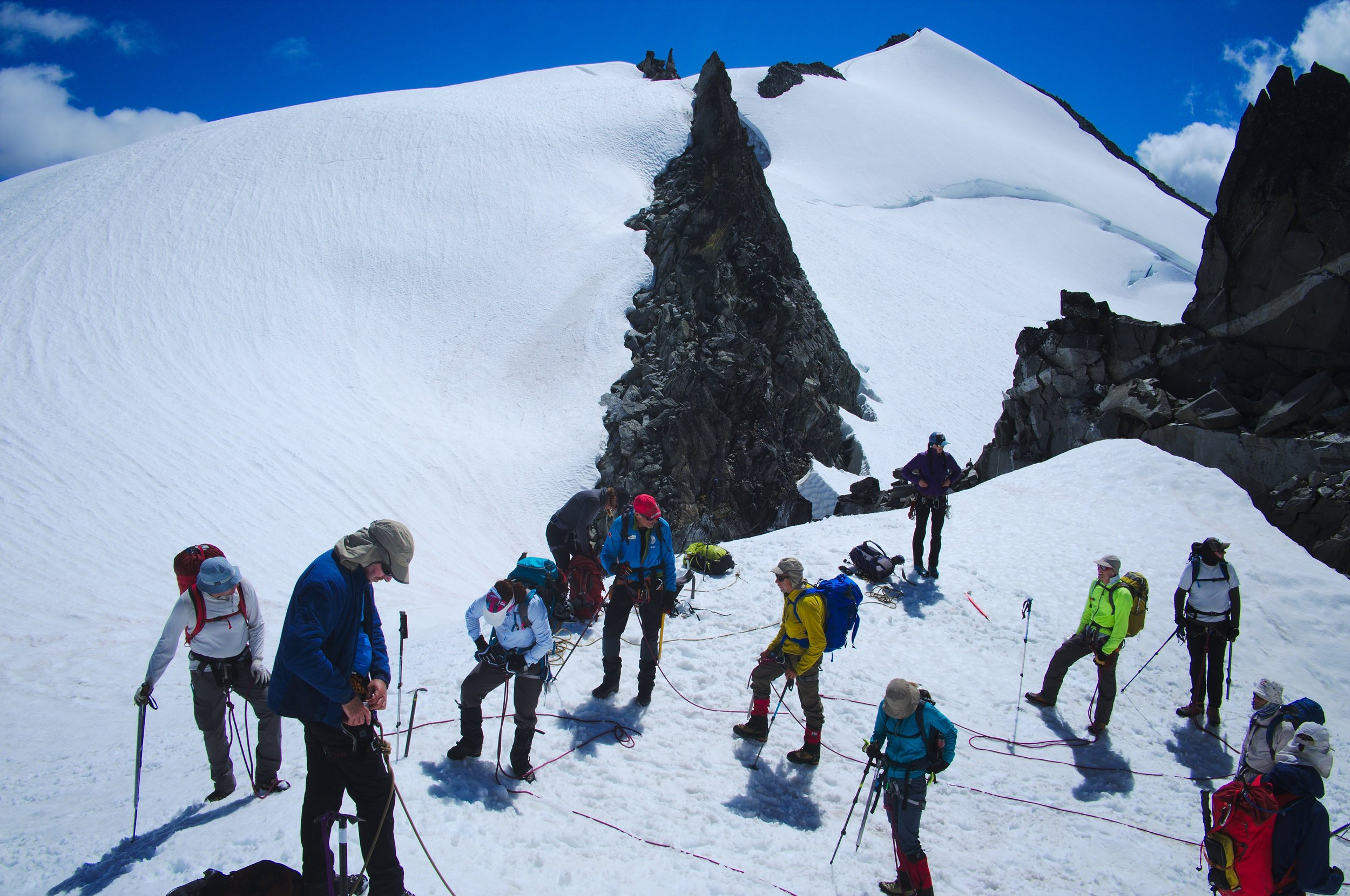 Summer in the Mountains - Mountaineering, Rock Climbing and Glacier Travel