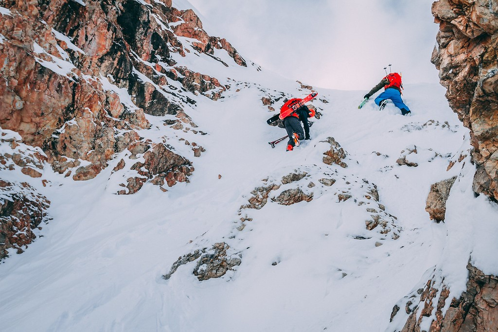 Entering the South Couloir in a manner that doesn't leave lasting memories in your base.