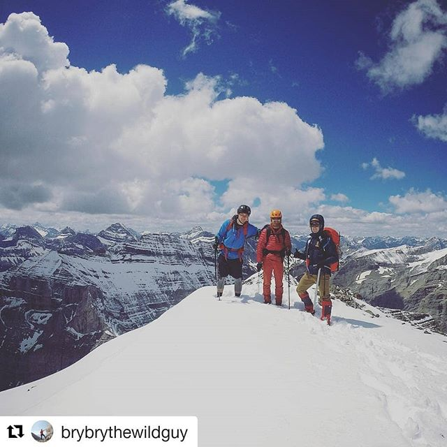 #Repost @brybrythewildguy (@get_repost) ・・・ The summit day where my ice axe self-arrest skills came in quite handy. #kananaskis #scrambling #snowisslippery #ilovemyiceaxe  #accbuds #mountaineering #yegacc #alpineclubofcanada #getoutside