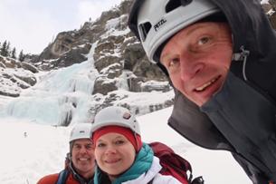 Obligatory post-climb group selfie