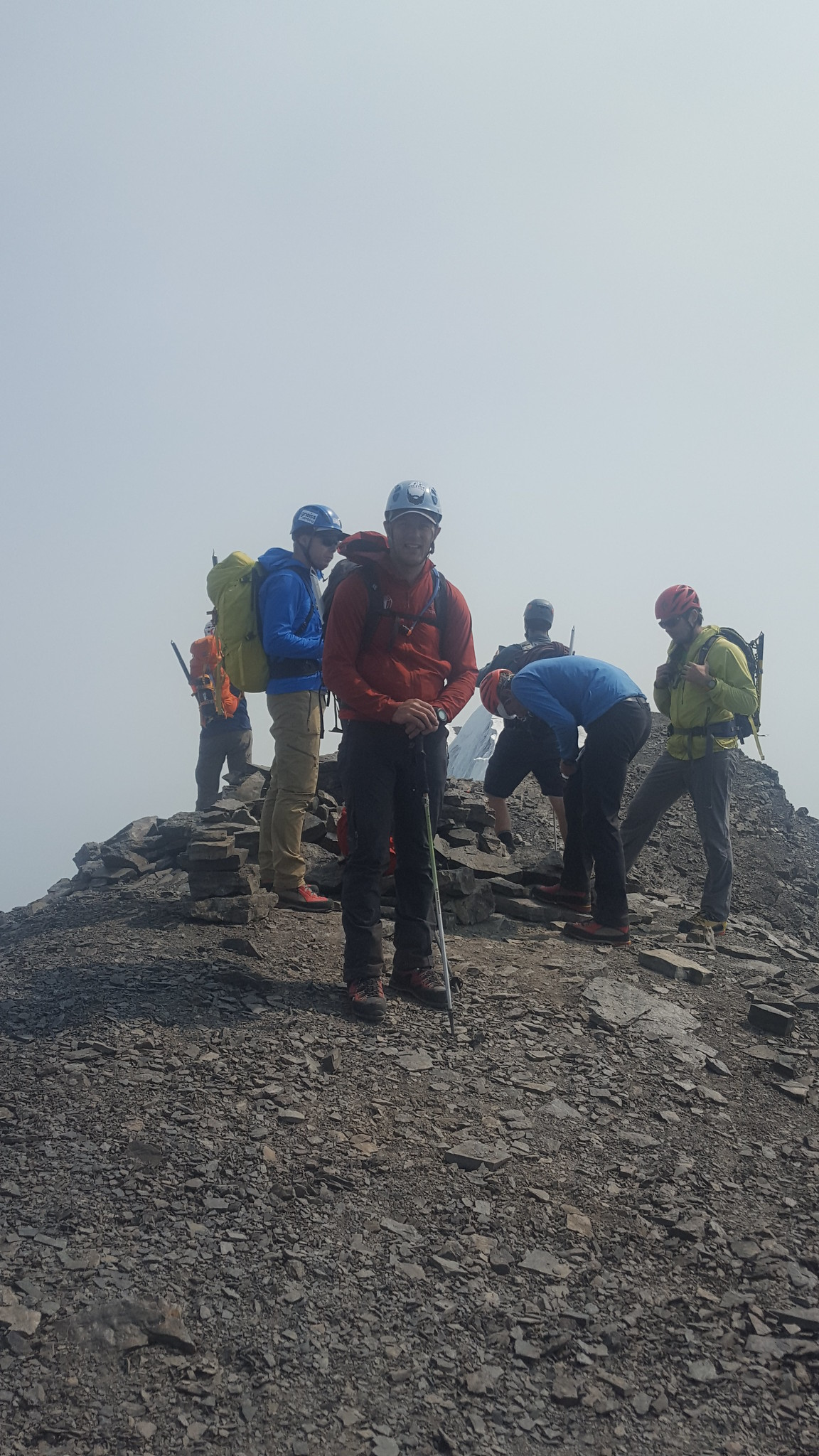 Group on the summit