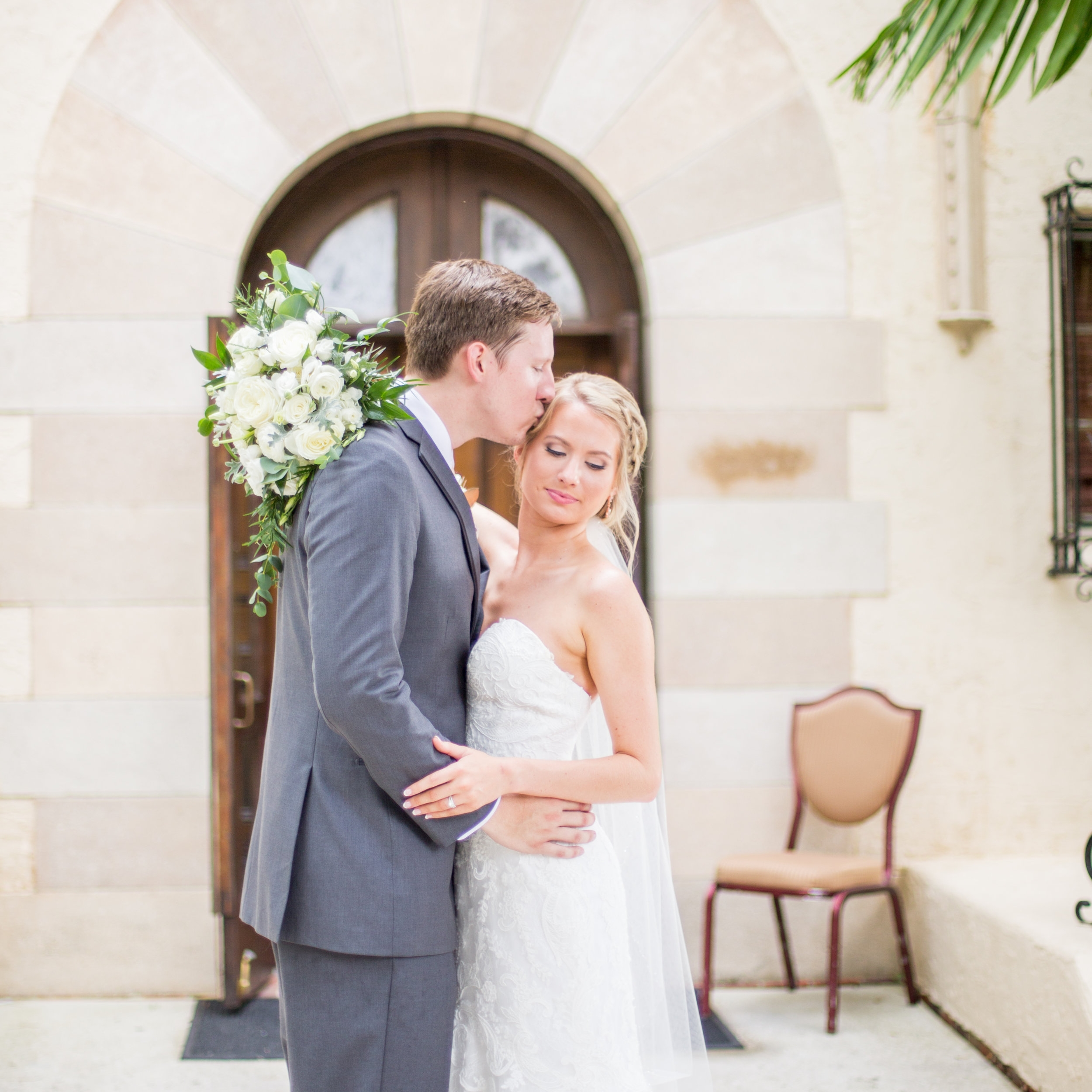 Powel Crosley Estate | Wedding | Pink and Gold Wedding | Wedding Portraits | Wedding Bouquet | Sarasota Weddings | Spring Wedding | Jess Anne Photography