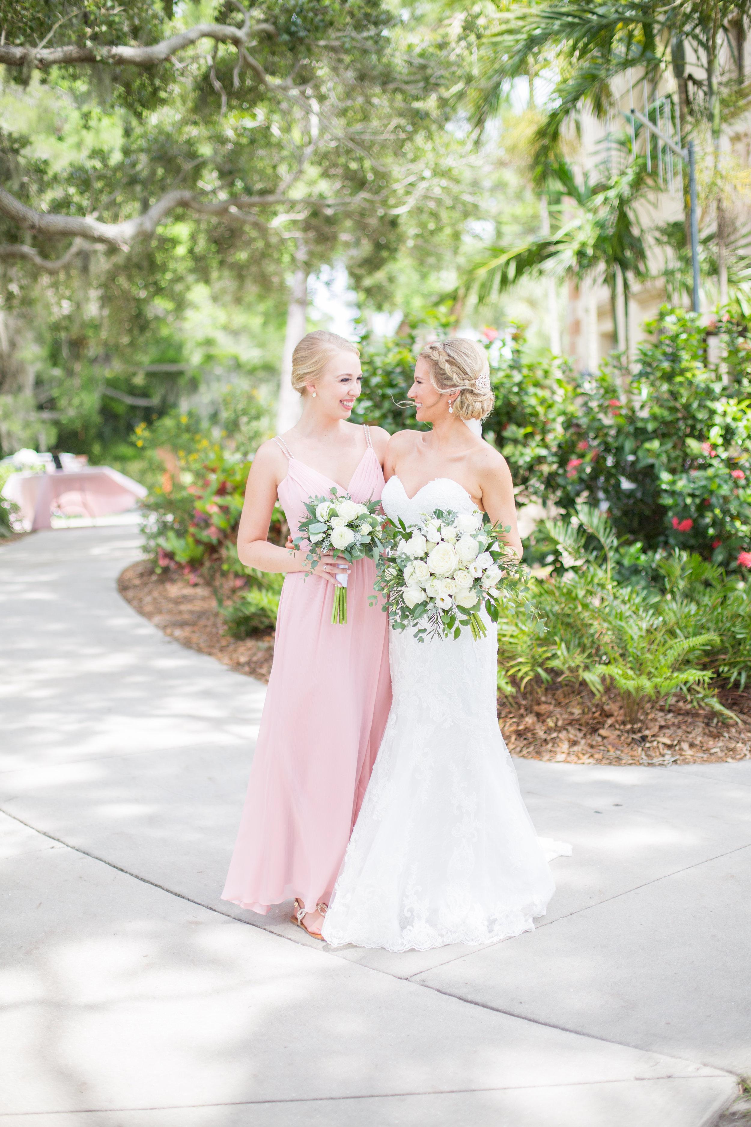 Powel Crosley Estate   Wedding   Pink and Gold Wedding   Bridesmaids Dresses   Wedding Bouquet   Sarasota Weddings   Spring Wedding   Jess Anne Photography