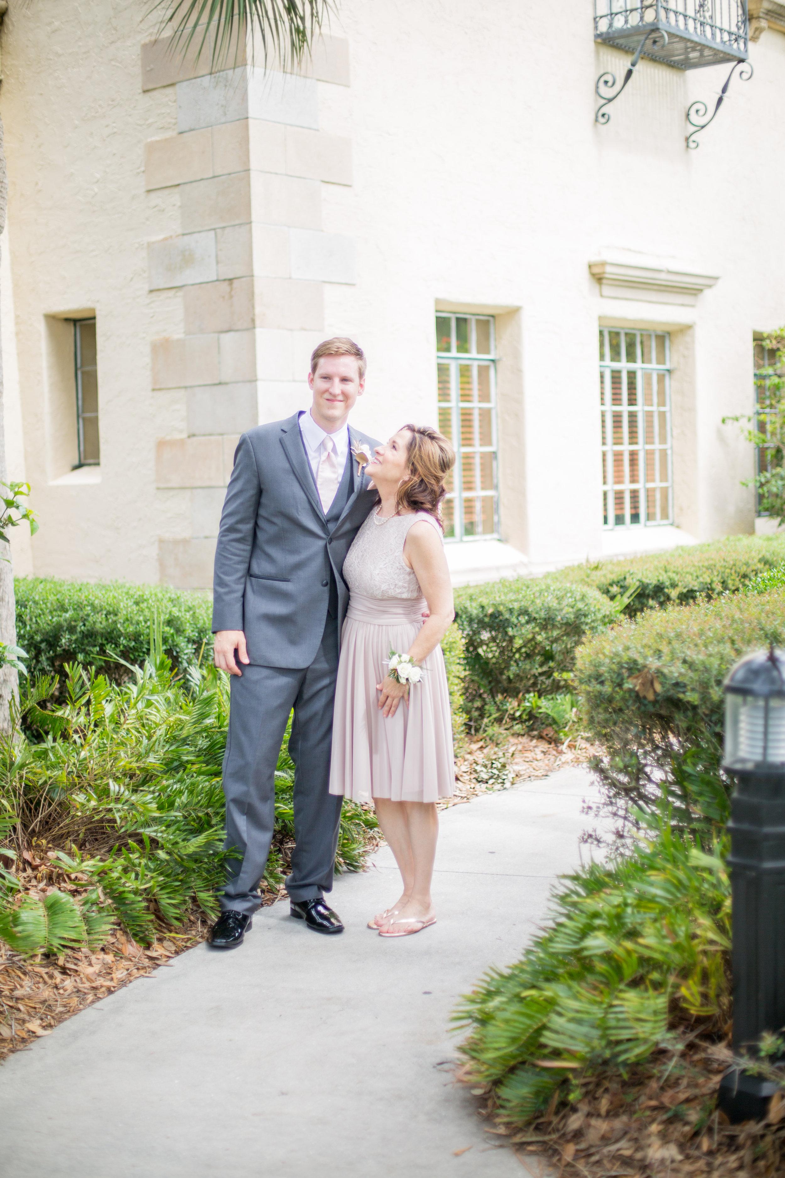 Powel Crosley Estate   Wedding   Pink and Gold Wedding   Wedding Portraits  Groom Portraits  Sarasota Weddings   Spring Wedding   Jess Anne Photography