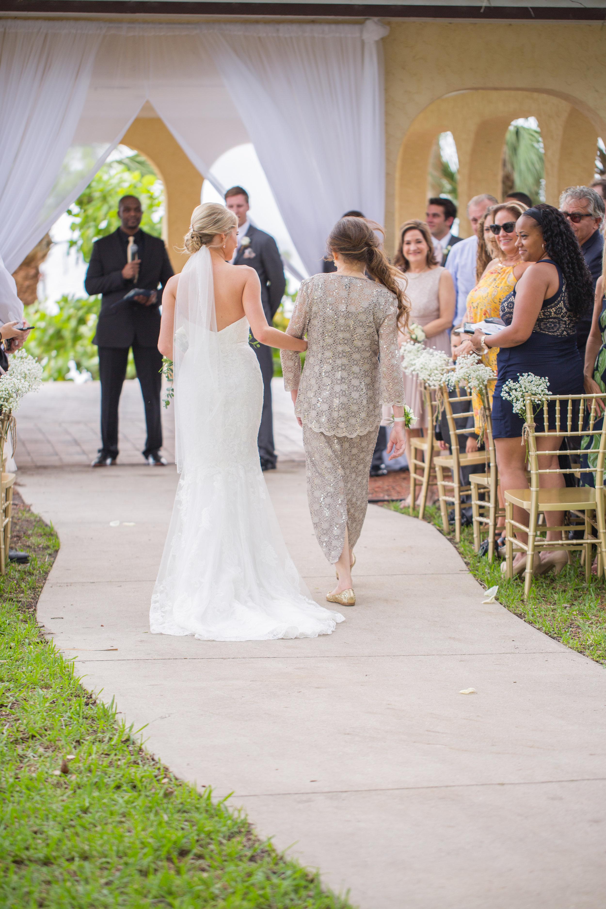 Powel Crosley Estate   Wedding   Pink and Gold Wedding   Wedding Ceremony  Sarasota Weddings   Spring Wedding   Jess Anne Photography