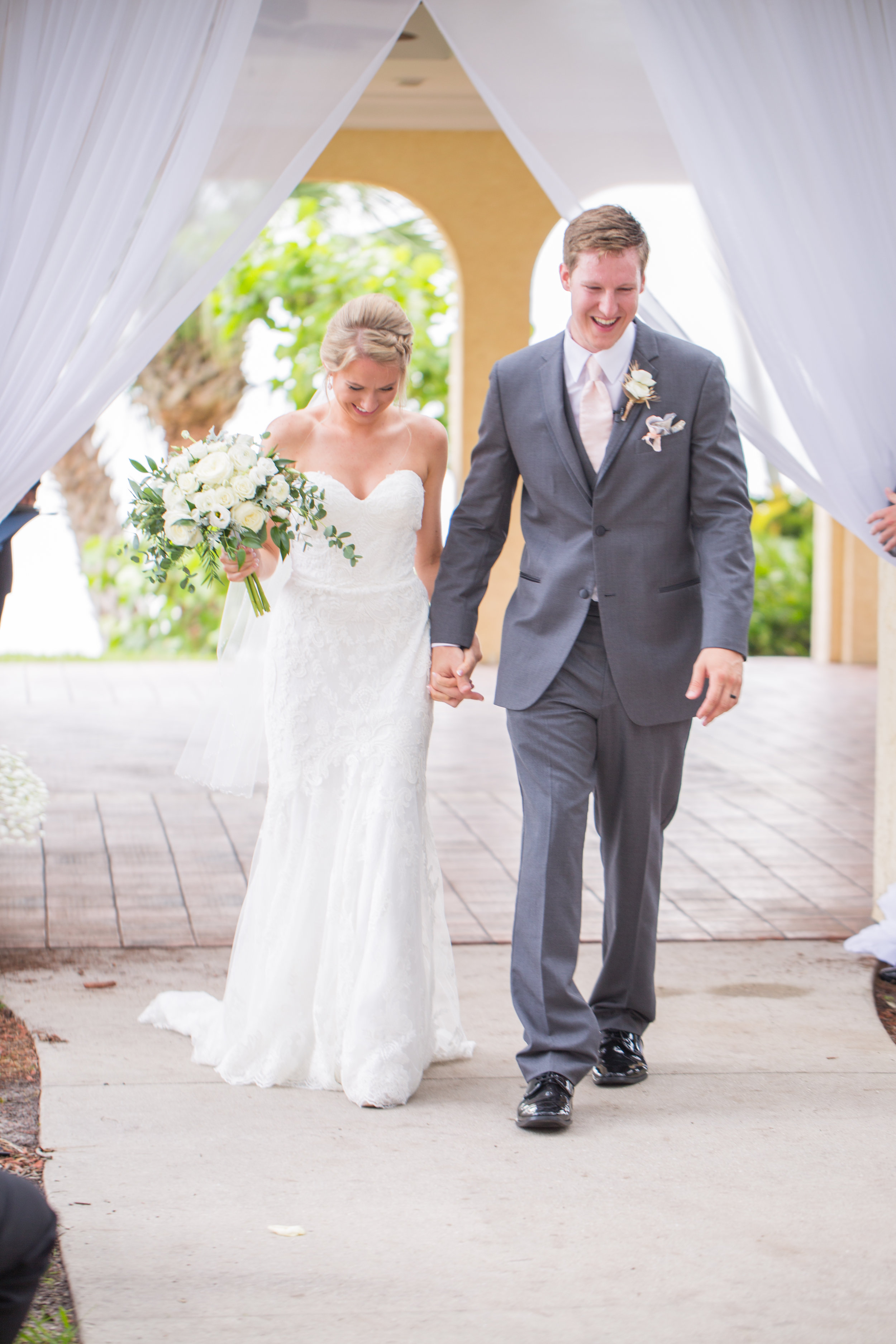 Powel Crosley Estate   Wedding   Pink and Gold Wedding   Wedding Portraits  Sarasota Weddings   Spring Wedding   Jess Anne Photography