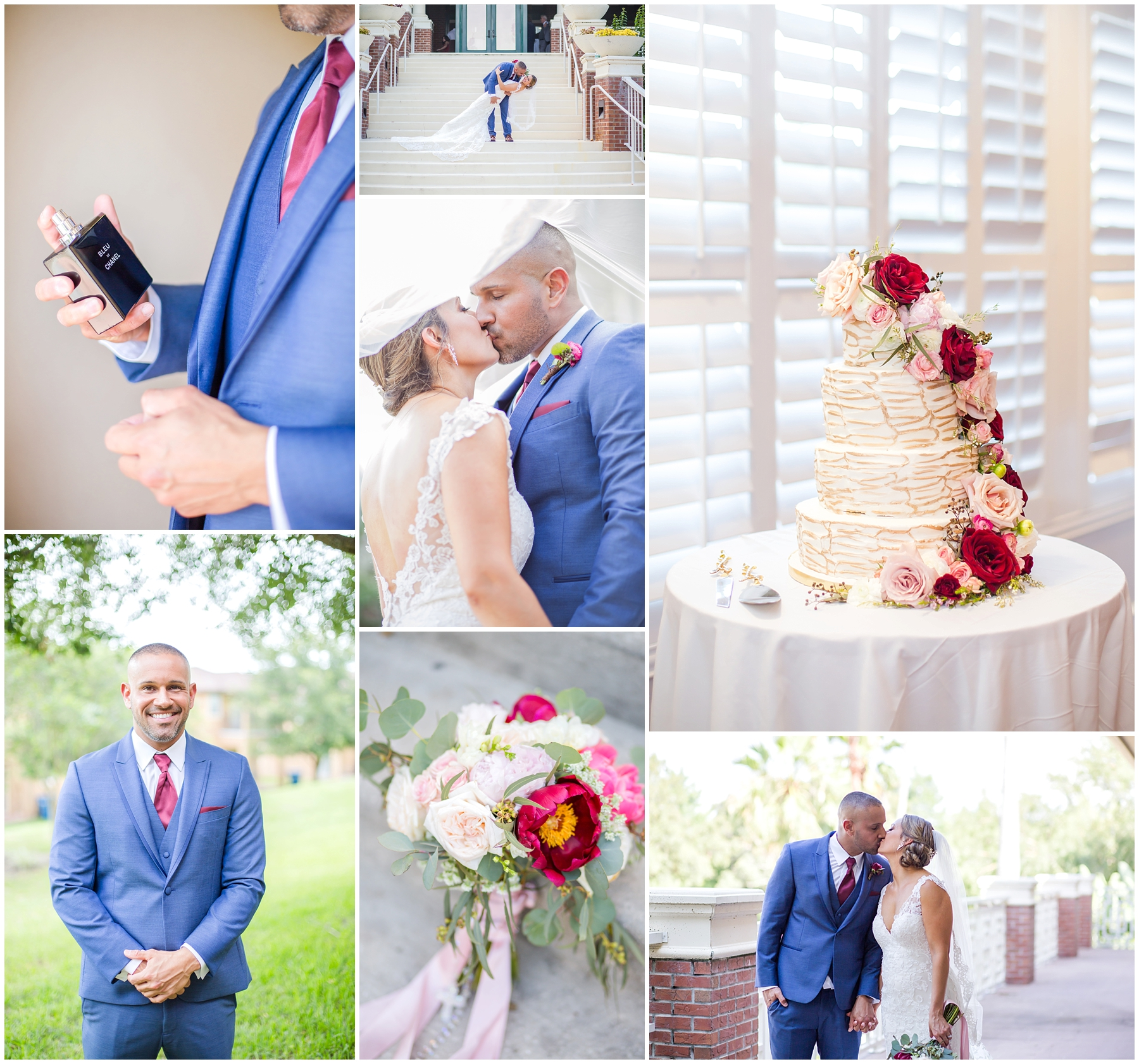 I loved second shooting this wedding with Sydney. They were such an adorable couple to capture! And I just love the wedding details, and the colors!