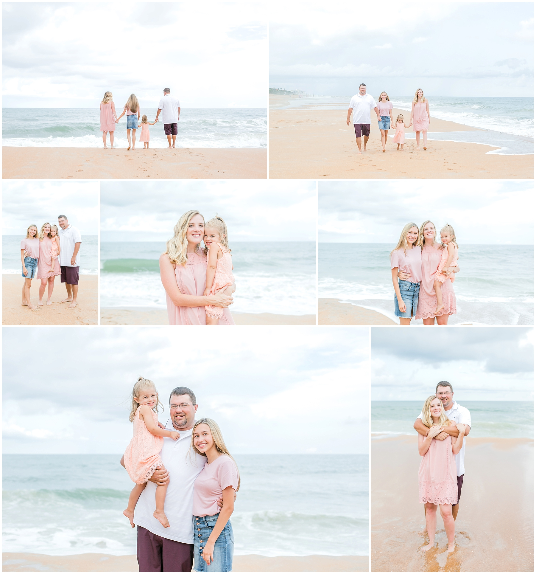 Such a fun family beach session at Ormand Beach! I had a great time getting to know this adorable family!