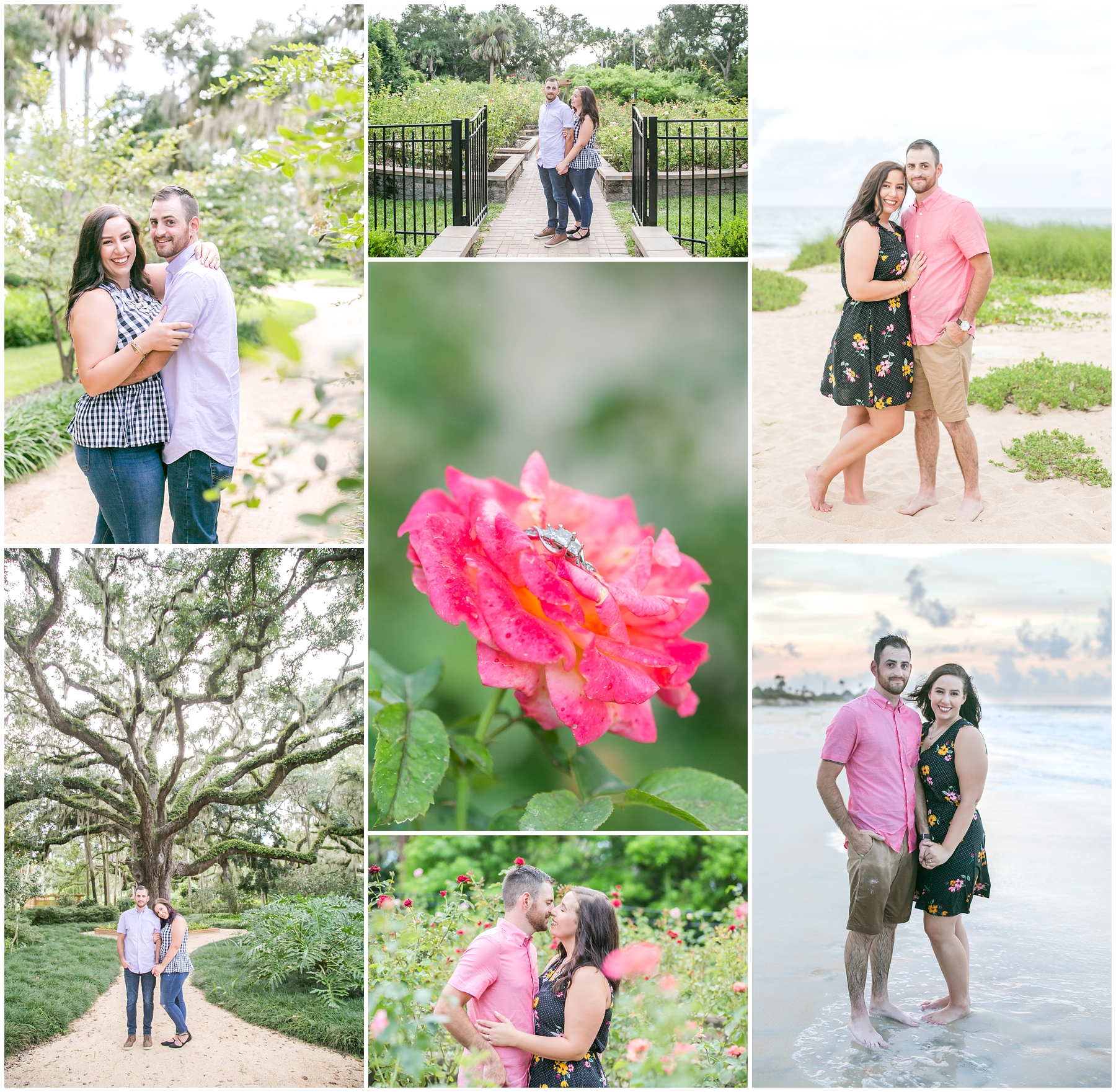 I am obsessed with Samantha + Jeff's engagement session! I had so much fun getting to know them, and I cannot wait for their wedding in two months!
