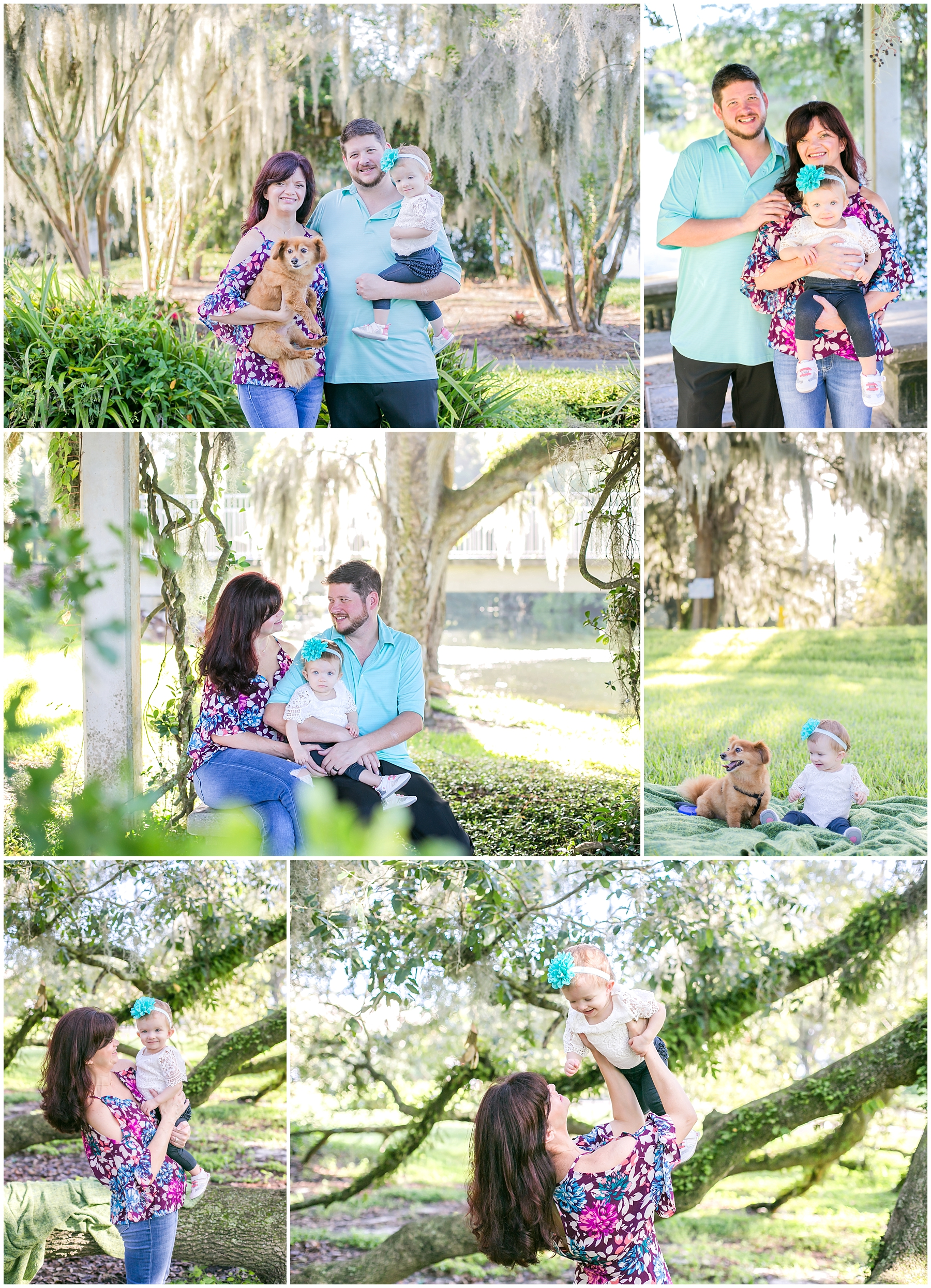 How adorable are they!? Oh my gosh, I love when clients bring their pets to sessions! What's better than a family session with a baby and a puppy!?