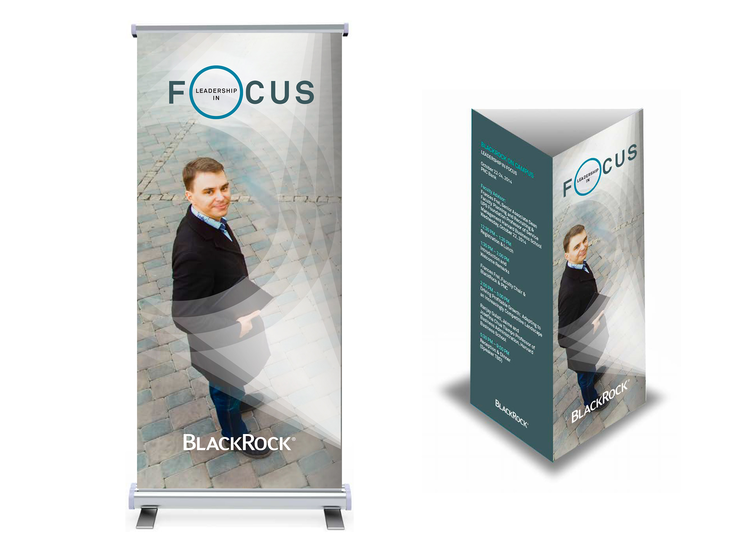 Banner stand and table tent