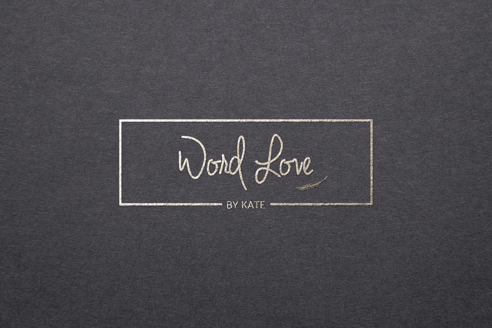 Word Love custom logo design | Gorjo Designs