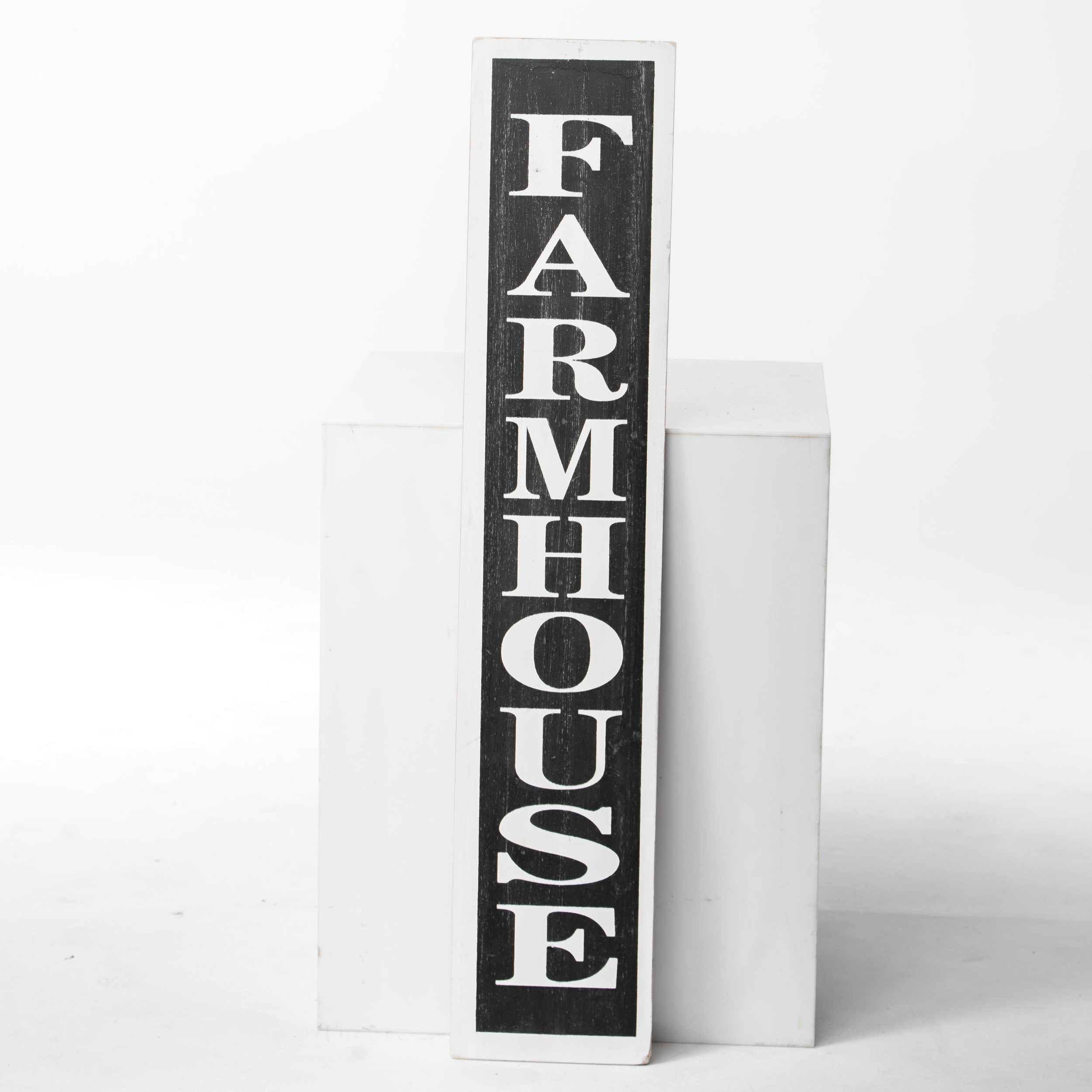 "WOODEN ""FARMHOUSE"" SIGN"