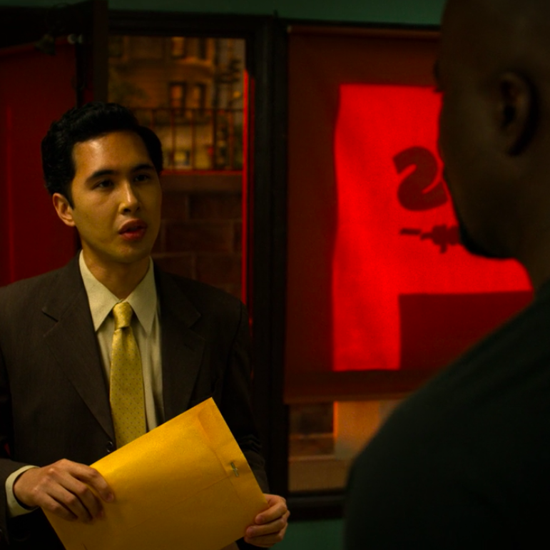 """Luke Cage  Season 2, Episode 4 (""""I Get Physical"""") Co-star (""""Young Man"""") Directed by Salli Richardson-Whitfield Netflix / Marvel"""
