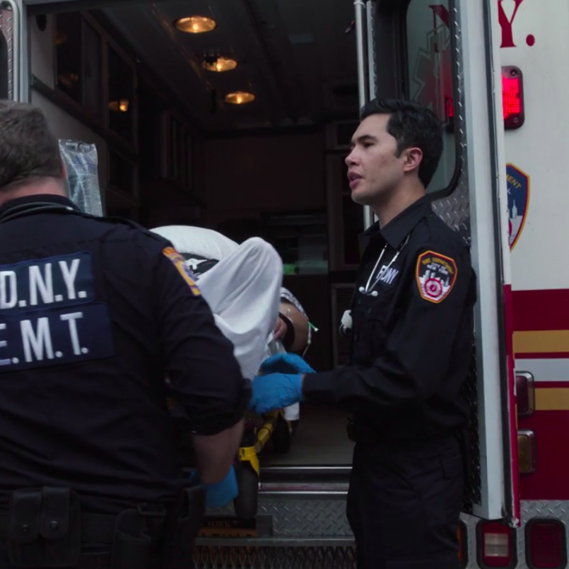 """New Amsterdam  Season 1, Episode 4 (""""Boundaries"""") Co-star (""""EMT Kennedy"""") Directed by Kate Dennis NBC"""