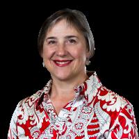 Julie B 2018 red white shirt.png
