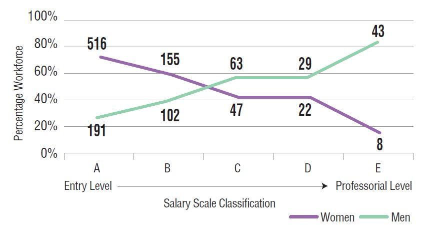 Figure 1: MRI Workforce by Gender and Paygrade