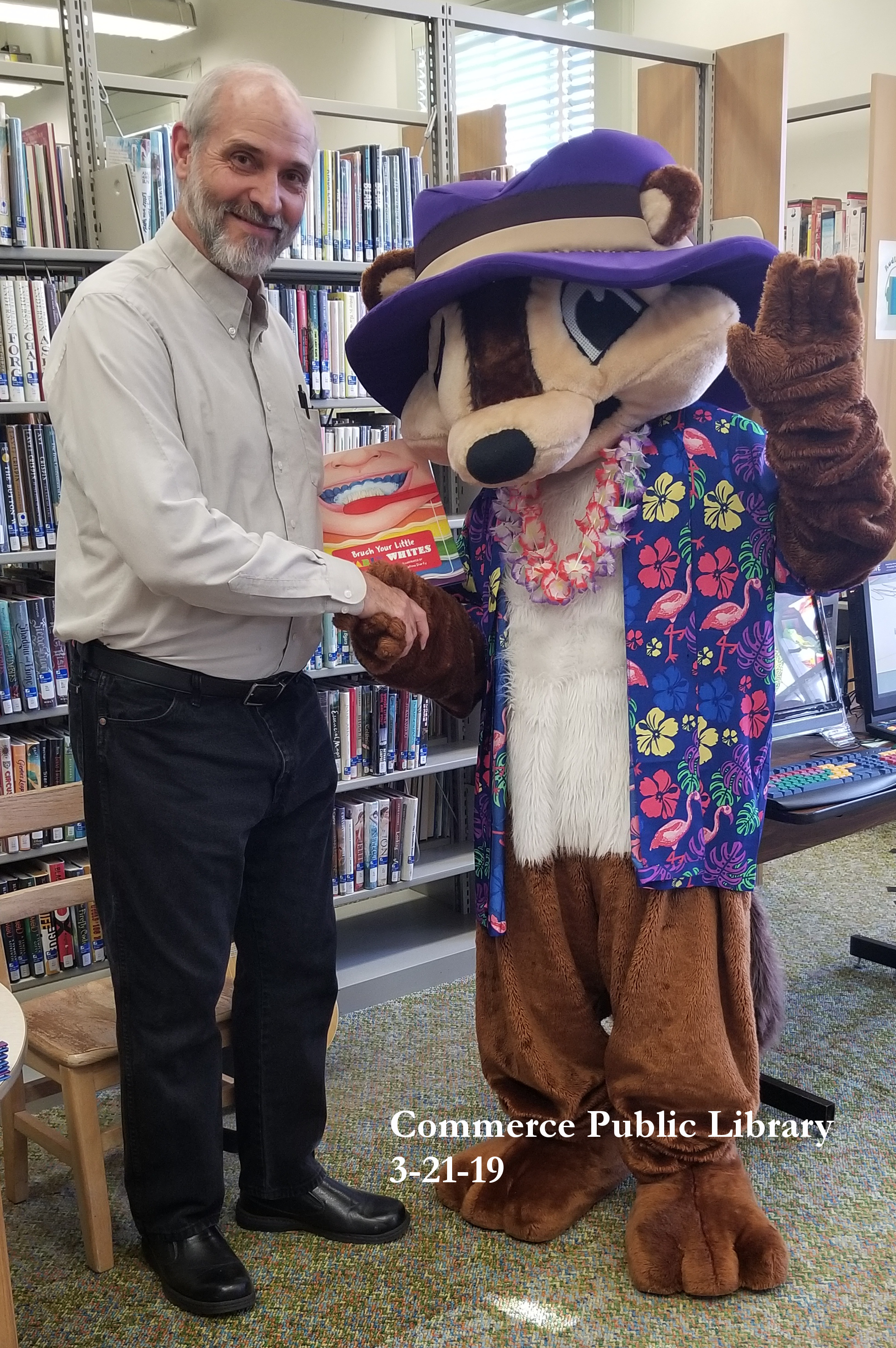 With mascot at Library.jpg