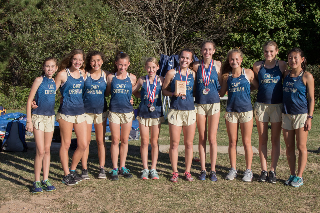 2017 XC Girls 3rd In State