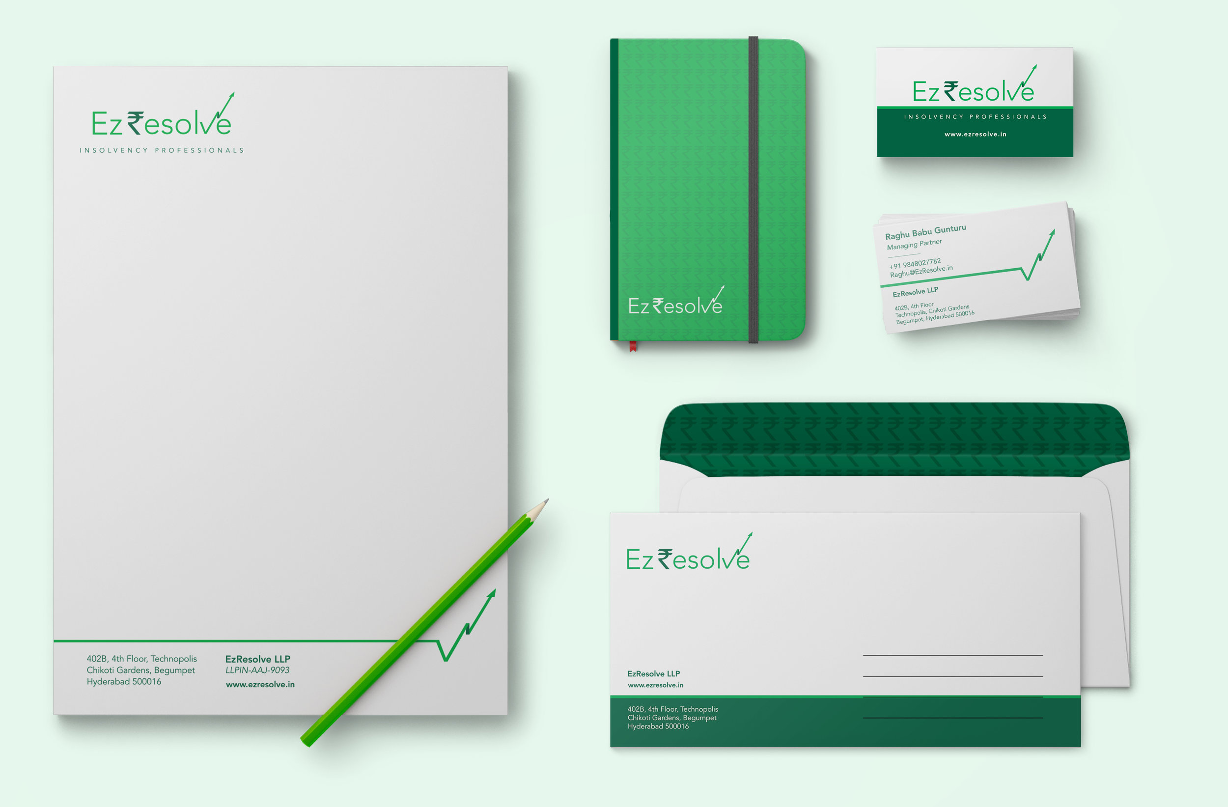 Final Logo &Stationery Suite