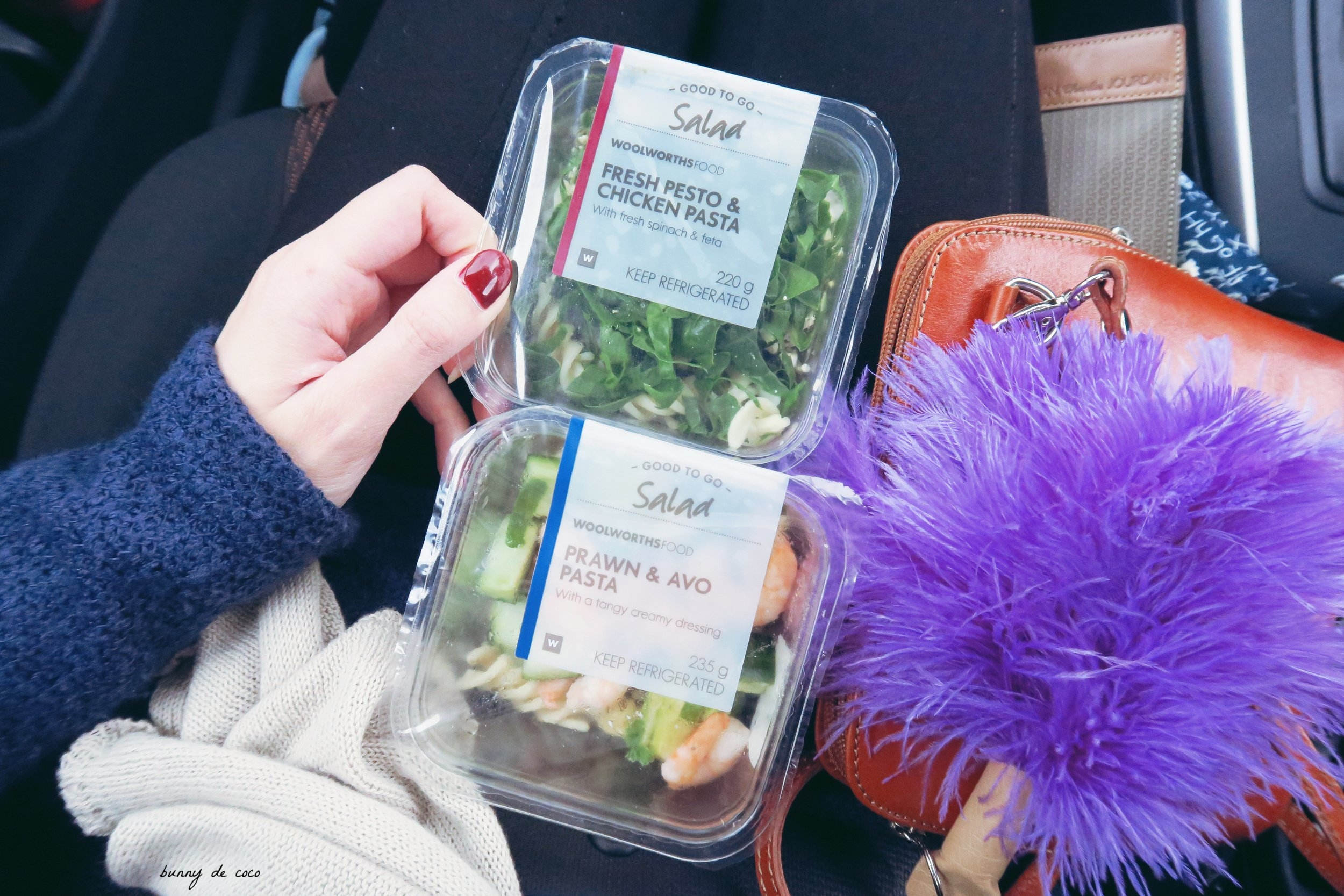Delish salads from my bff, Woolies. I could eat these everyday.
