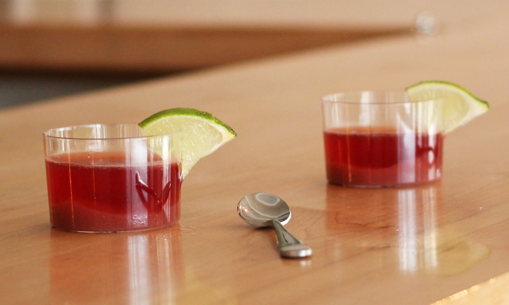 Strawberry Haba Smash - VARIATIONS:1/2 cup tequila2 cups champagne2 cups lime-flavored sparkling water