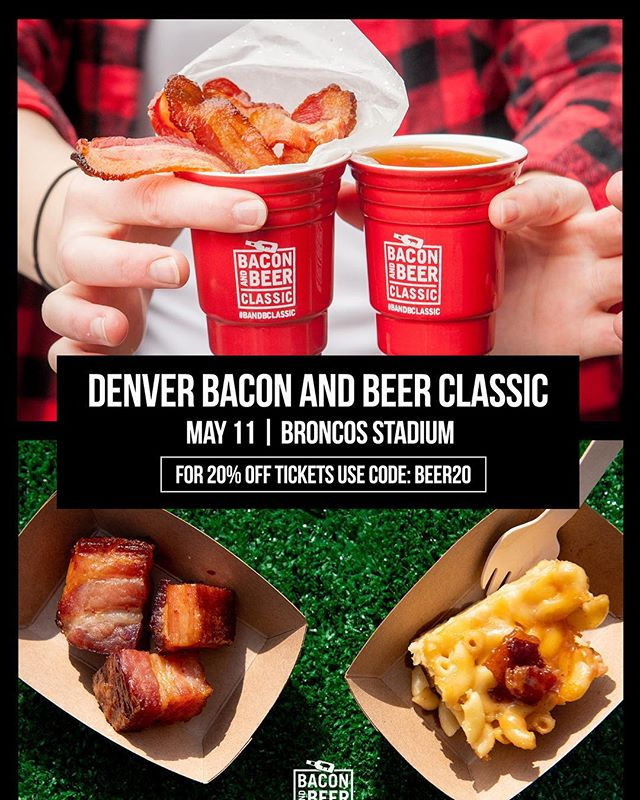 It's almost that time of year again. Come taste some of the finest craft beers and craft eats that Denver has to offer, including a new brew Gel-Oh Shot flavor. Use the promo code here for a discount on your tickets! #baconandbeerclassic #gelohdolly #partysoft
