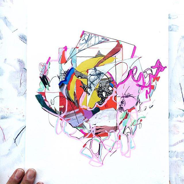 Collage wonderland 🦄 #collageart