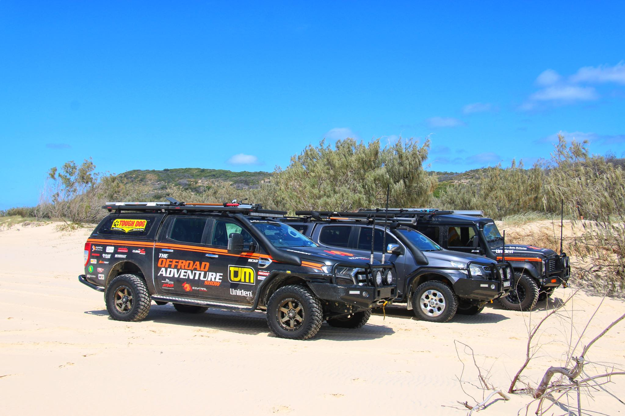 FRASER ISLAND WITH THE OFFROAD ADVENTURE SHOW
