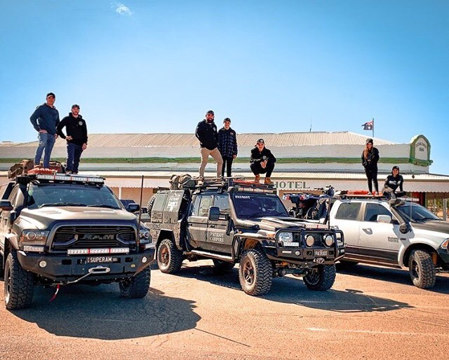 Have you got an ultimate convoy shot? Tag us for a chance to be featured! 🌵📷🤙🏽🚗🏎🚙🚜🚛 ⠀ ⠀ 📷 @tjm4x4 ・・・ What a convoy! 🔥 👊  @patriotgamestv crew are taking on the Simpson Desert! 🏜️ Watch our Instagram stories to follow their journey to @tattsfinkedesertrace, Alice Springs.  Gearing up for your next adventure?  Head into your local TJM for an epic deal on 4x4 suspension, recovery, protection, navigation, lighting, communication, camping and more during our Finke My Ride Sale! Hurry, sale ends 30/6/19 🏁 Link in bio ☝️ ⠀ ⠀ #convoy #birdsville #tjm #tjmequipped #tjm4x4 #getequipped #seeaustralia #tattsfinkedesertrace #patriotgames #patriotcampers #offroad #4x4 #4wd #desertrace #centralaustralia #reddirt